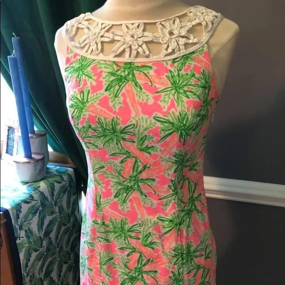 Lilly Pulitzer Dresses & Skirts - Lilly Pulitzer Nibbles Lacina shift dress